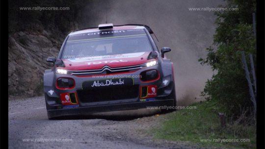 Essais Citroën / Tour de Corse WRC 2017