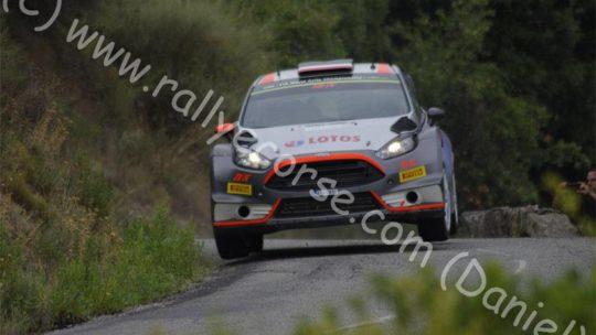 Essais Ford (privés) / Tour de Corse WRC 2015