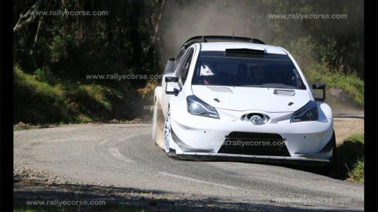 Essais Toyota / Tour de Corse WRC 2017