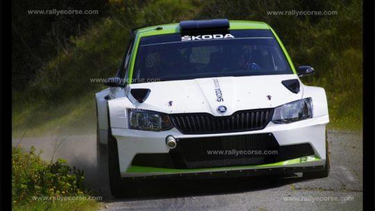 Essais Skoda / Tour de Corse WRC 2017