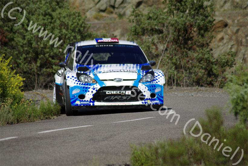 Essais Team FIRST / Tour de Corse WRC 2015