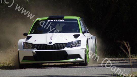 Essais Skoda / Tour de Corse WRC 2015