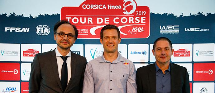 Présentation officielle Tour de Corse WRC 2019