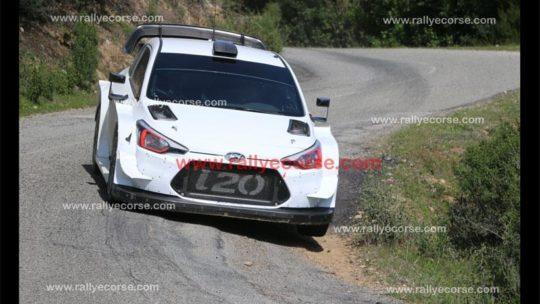 Essais Hyundai / Tour de Corse WRC 2018