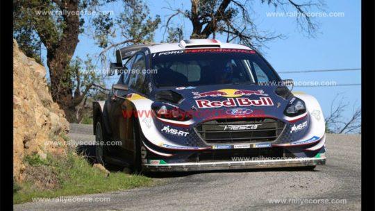 Essais Ford (M-Sport) / Tour de Corse WRC 2018