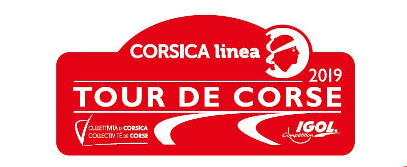 Carte générale du Tour de Corse WRC 2019 !