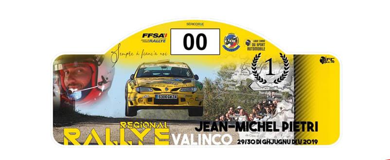 Présentation – Rallye du Sartenais-Valinco / Jean-Michel Pietri 2019
