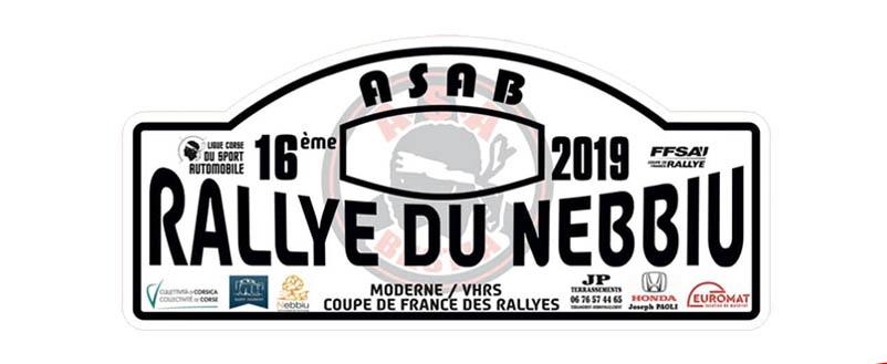 Présentation – Rallye du Nebbiu 2019