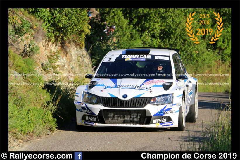 Championnat de Corse : Jean-Mathieu Leandri réalise la passe de 3 !