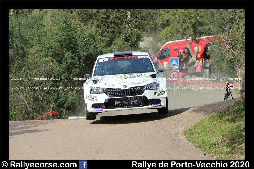 Rallye de Porto-Vecchio 2020 : Botti, à l'expérience !