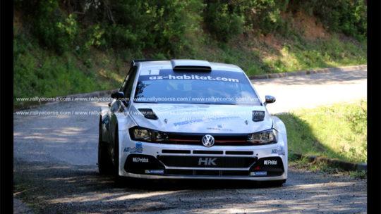 Rallye d'Eccica Suarella 2020 : Leandri inaugure le palmarès !