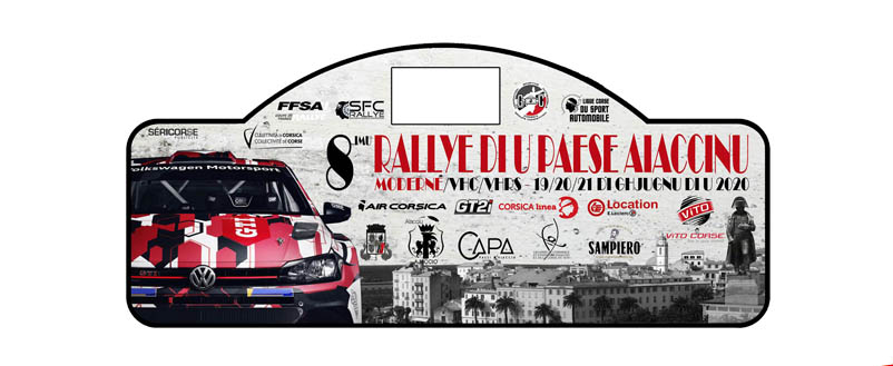 Le Rallye du Pays Ajaccien aura lieu du 19 au 21 Juin !