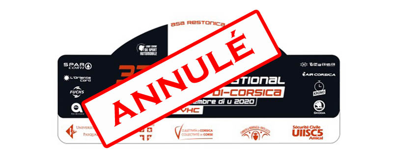 Le Corte Centre Corse annulé à son tour !!