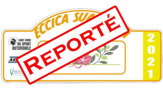Le rallye d'Eccica-Suarella reporté !!