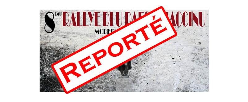 Le Pays Ajaccien reporté en Juin !