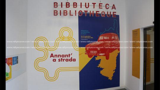 L'automobile s'expose à la Bibliothèque de l'Université de Corse !
