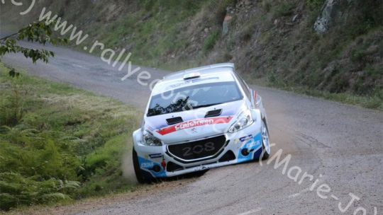 Essais Team Saintéloc / Tour de Corse WRC 2015