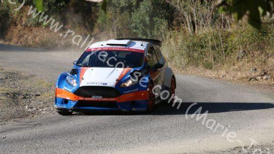 Essais Team ORECA / Tour de Corse WRC 2015