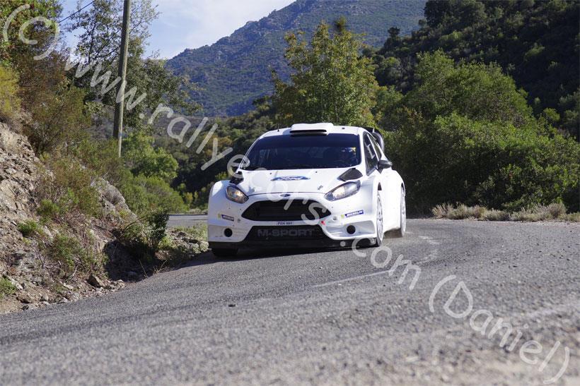 Essais Ford (M-Sport) / Tour de Corse WRC 2015