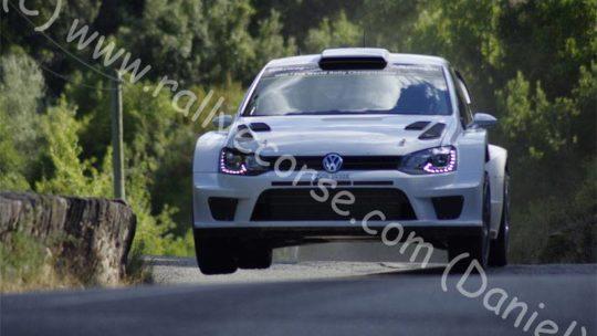 Essais VW / Tour de Corse WRC 2015