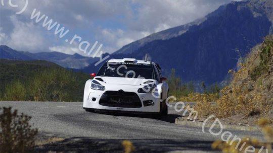 Essais Citroën / Tour de Corse WRC 2015