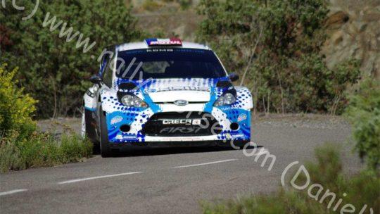 Essais Team FIRST / Tour de Corse WRC 2015