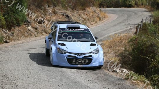 Essais Hyundai / Tour de Corse WRC 2015