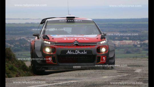 Essais Citroën (WRC) / Tour de Corse WRC 2018