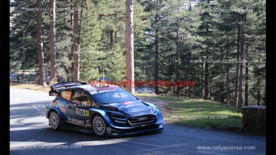 Tour de Corse WRC 2019 – Etape 1 : Evans d'une courte tête !