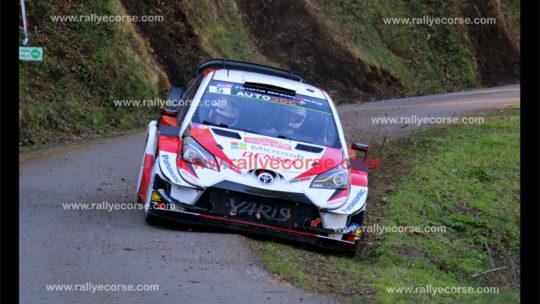Tour de Corse WRC 2019 – Shakedown : Meeke tire le premier !