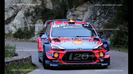 Tour de Corse WRC 2019 – Etape 2 : Neuville-Evans, duel au sommet !