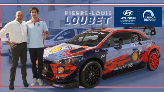 Pierre-Louis Loubet rejoint Hyundai Motorsport pour 2020 !