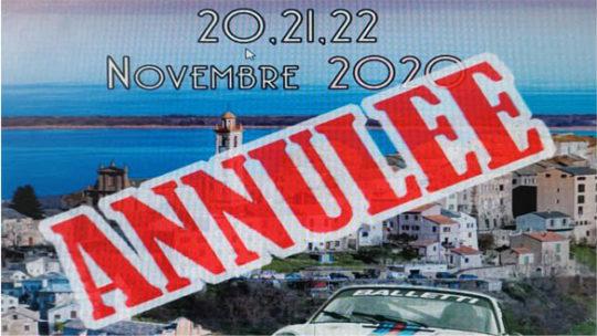 La Montée Historique de Borgo annulée à son tour !
