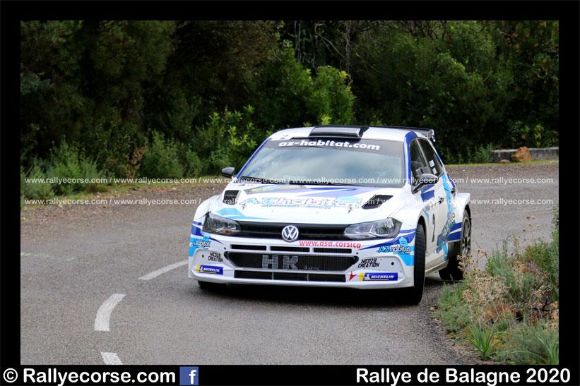 Rallye de Balagne 2020 : Leandri termine en beauté !