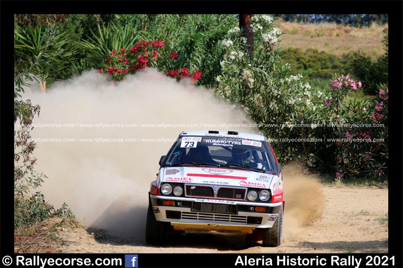 Aleria Historic Rally 2021 – Prologue terre : Beuzelin et les J2 au pouvoir !
