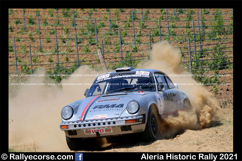 Aleria Historic Rally 2021 : Deveza s'impose sur la terre ; Chabloz remporte le Trophy !