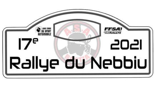 Présentation : Rallye du Nebbiu 2021